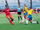منتخب سيدات البرازيل يودع أولمبياد طوكيو من ربع النهائي