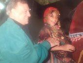 بصورة معه من طفولتها.. ناهد السباعى تحيى الذكرى 101 لميلادها جدها فريد شوقى