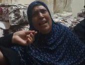 والدة شهيد لقمة العيش في حلوان: المتهم يتم 3 بنات من أبوهم عشان علبة سجاير