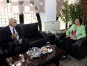 وزيرة البيئة تعلن استضافة مصر لمؤتمر الأمم المتحدة لتغير المناخ 2022 نوفمبر القادم.. وخطة تنفيذية لإعادة التوازن البيئى للبحيرات المصرية تنفيذا لتكليفات الرئيس.. وخارطة للحفاظ على التنوع البيولوجى حتى 2050