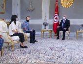 """رئيس تونس يفتح النار على الإخوان.. قيس سعيد لـ""""نيويورك تايمز"""": أرادوا تحويل البلاد لمقاطعات للسيطرة عليها..قراراتى للحفاظ على الدولة وضرورية بعد نهب أموال الشعب.. ويؤكد: لم يعتقل أى شخص ولن تكون هناك ديكتاتورية"""