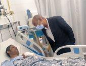 إصابة 22 مواطنًا فى حادث انقلاب أتوبيس على طريق ميت غمر - المنصورة.. صور