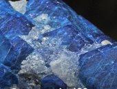عمره 400 مليون سنة.. العثور على أكبر حجر من الياقوت الأزرق فى العالم (فيديو)