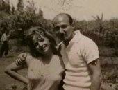 شادية فى صورة نادرة مع شقيقها محمد شاكر منذ ستينيات القرن الماضى