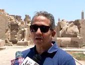 وزير السياحة يكشف تفاصيل احتفالات طريق الكباش المنتظرة نهاية العام.. فيديو