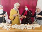 رياضة الشرقية تنفذ ورشة عمل مشغولات ومعلقات بخيط المكرمية بمركز شباب ناصر