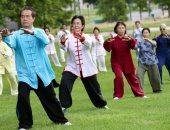 """دفاع عن النفس وتأمل والتخلص من الوزن الزائد.. ممارسة """"تاى تشي"""" فى بلجيكا.. ألبوم صور"""