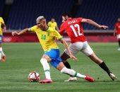 منتخب مصر الأولمبى يودع طوكيو بعد الخسارة من البرازيل بهدف.. ألبوم صور