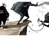 تونس تتتخلص من الفساد السياسى والاقتصادى فى كاريكاتير اليوم