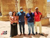 وزير السياحة والآثار يتفقد مشروعات معابد الكرنك.. لايف وصور