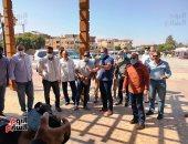"""وزير السياحة يلتقى """"فوج أوكراني وبيلاروسى"""" في معبد الكرنك.. صور وفيديو"""