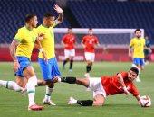 منتخب مصر الأولمبى يخسر أمام البرازيل 1 / 0 ويودع أولمبياد طوكيو.. فيديو