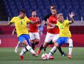 شاهد.. أول فرصة حقيقية لمنتخب مصر أمام البرازيل