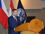 شكرى ووزير خارجية التشيك يشاركان فى فعاليات منتدى الأعمال المصرى التشيكى
