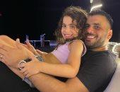 ملك الدقيقة 90 يحتفل بعيد ميلاد ابنته سيلين عماد متعب بمجموعة صور