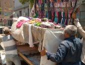 حملة لإزالة إشغالات الباعة ونظافة وتشجير الشوارع بأسيوط.. صور