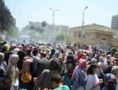بالمزمار والزغاريدوالبالونات.. احتفالات طالبات الثانوية العامة ببورسعيد (لايف)