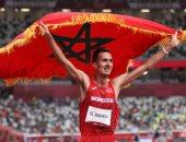 الرجاء المغربي يهنئ البطل سفيان البقالي بذهبية أولمبياد طوكيو