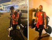 المنتخب الأولمبي يصل مطار القاهرة بعد المشاركة في أولمبياد طوكيو.. صور