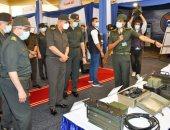 وزير الدفاع يتفقد إحدى الوحدات الفنية التابعة لإدارة الأسلحة والذخيرة