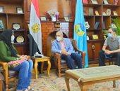 رئيس جامعة طنطا يستجيب لعلاج طالبة بكلية تجارة.. مريضة منذ 6 سنوات.. فيديو