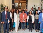 وفد تنسيقية شباب الأحزاب يلتقى وزيرة الثقافة للحديث عن أبرز الإنجازات