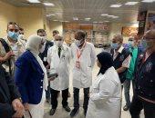 وزيرة الصحة تتفقد الحجر الصحي بمطار الأقصر لمتابعة تطبيق الإجراءات الاحترازية ضد كورونا
