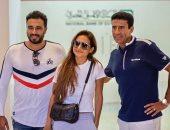 أحدث ظهور لـ نيللي كريم وهشام عاشور مع اقتراب زفافهما.. صور