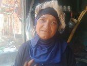 أم محمد 25 سنة فى القهوة على رجلها لتربية أبنائها بعد عجز زوجها.. صور