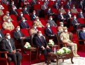 """الرئيس السيسى يشاهد فيلما تسجيليا بعنوان """"بكرة أحلى"""" عن مدينة سايلو فودز"""