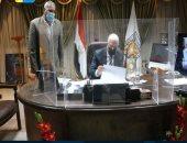 محافظ جنوب سيناء يصدق على 12 حالة تصالح بناء لمواطنين فى شرم الشيخ