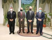 محافظ جنوب سيناء يستقبل السفير القبرصي خلال زيارته لمدينة شرم الشيخ ودهب