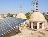 محافظ الوادى الجديد يتفقد مشروعات تشغيل مساجد المحافظة بالطاقة الشمسية