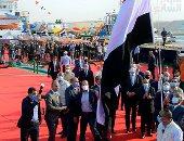 """رئيس الوزراء يشهد حفل تدشين الكراكة """"حسين طنطاوى"""" بقناة السويس.. صور"""