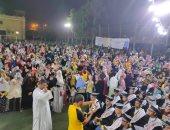 قرية ببنى سويف تنظم حفلا لتكريم 50 طالبا وطالبة لحفظ القرآن الكريم.. صور