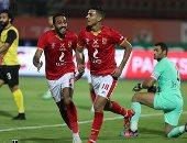 محمد شريف يسجل الهدف الثاني للأهلي فى مرمى دجلة.. فيديو وصور
