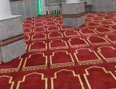 """""""أوقاف الأقصر"""" تنتهى من فرش 6 مساجد بأرمنت وإسنا بالسجاد الجديد"""