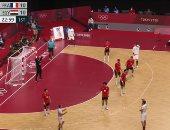 منتخب مصر يتعادل أمام فرنسا بعد مرور 22 دقيقة فى نصف نهائى أولمبياد طوكيو
