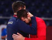 محمد سند لاعب اليد: أشعر بخيبة أمل بعد مباراة فرنسا ولدينا معركة للفوز بالبرونزية