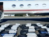 البرازيل تعتقل إسبانى هرب 1300 كيلو كوكايين فى 24 حقيبة بطائرة خاصة.. فيديو