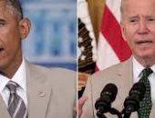 """بدلة """"كاكي"""" اللون.. بايدن يعيد أوباما للأذهان فى عيد ميلاد الأخير.. اعرف القصة"""