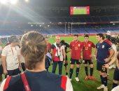 البرازيل وإسبانيا.. مدرب الماتادور: لم نخسر الذهب ولكن فزنا بالفضية
