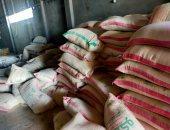 ضبط أعلاف حيوانية غير مسجلة بوزارة الزراعة داخل مصنع تعبئة فى الغربية