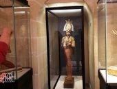 متحف اللوفر يضم أكثر من 6000 قطعة أثرية مصرية.. شاهد القطع التى تزين المكان