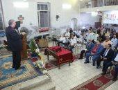 رئيس الكنيسة الإنجيلية يشارك فى تنصيب راعيا بسنورس الفيوم