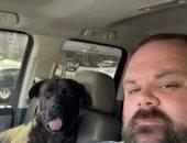 الصاحب الجدع.. كلب ينقذ صديقه من لدغة أفعى خلال نزهة ببحيرة فى ألاباما