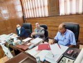 محافظ شمال سيناء يبحث آلية تشغيل سوق الجملة بالعريش لخدمة التجار والمستهلكين