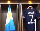 باريس سان جيرمان يشوق جماهيره قبل تقديم صفقة ميسى بعلم الأرجنتين