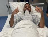 """أحمد الشناوي في أول رسالة بعد إجراء جراحة الرباط الصليبي: """"لنا عودة قريبة"""""""