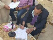 محافظ شمال سيناء يشهد على عقد قران أول عروس من دار الأيتام .. فيديو وصور